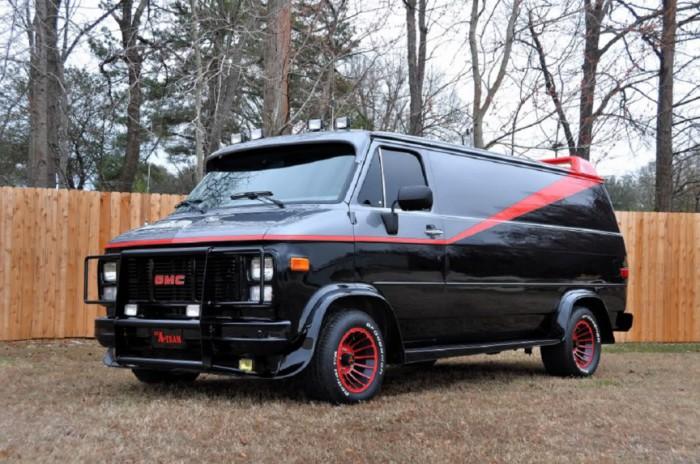 Тот самый фургон.