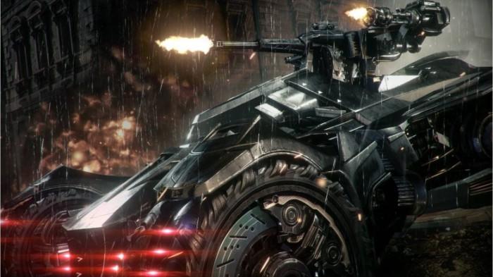 Бэтмобиль-трансформер.