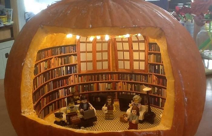 Библиотечная тыква.