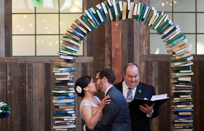 Свадьба гиков-книголюбов.