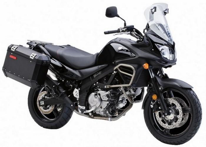 Suzuki V-Strom 650 - удобный и легко управляемый.