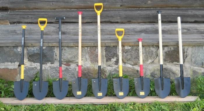 Лопаты бывают разные.