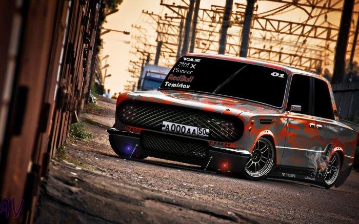 А нужна ли такая машина вообще? |Фото: wallbox.ru.