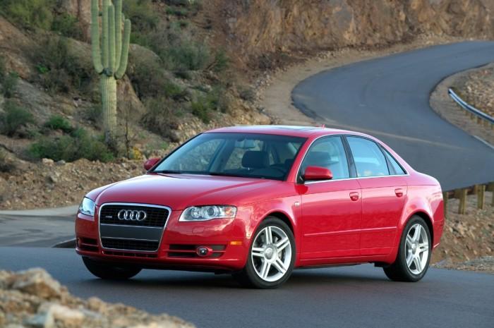 Автомобиль Audi А4 очень плох.