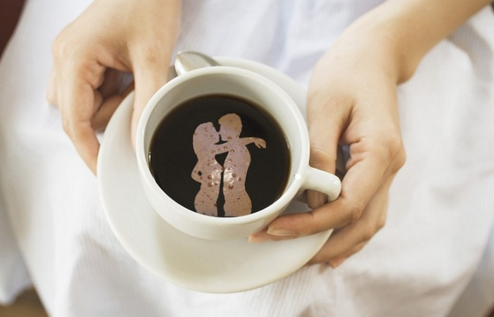 Кофе - это улучшение качества интимной жизни.