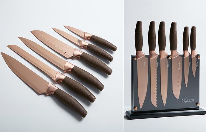 Невероятные ножи из настоящего титана.