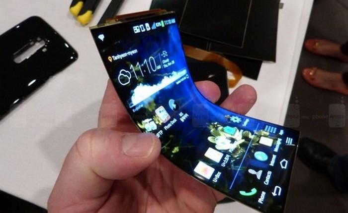 Уникальный гаджет: LG G Flex 1/2.