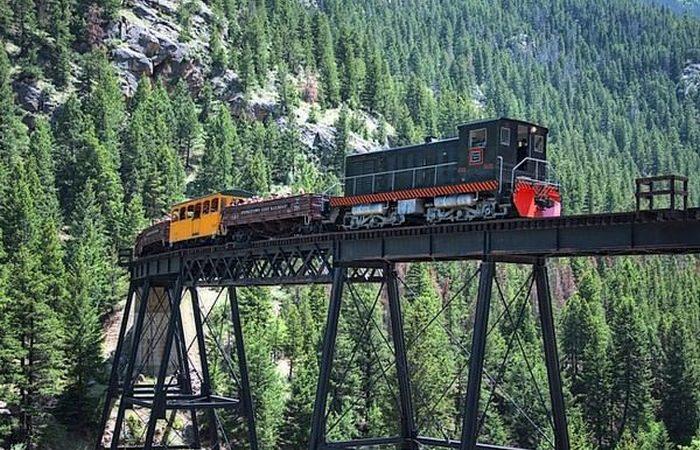 Завораживает и пугает: «Железная дорога Джорджтаун Луп».