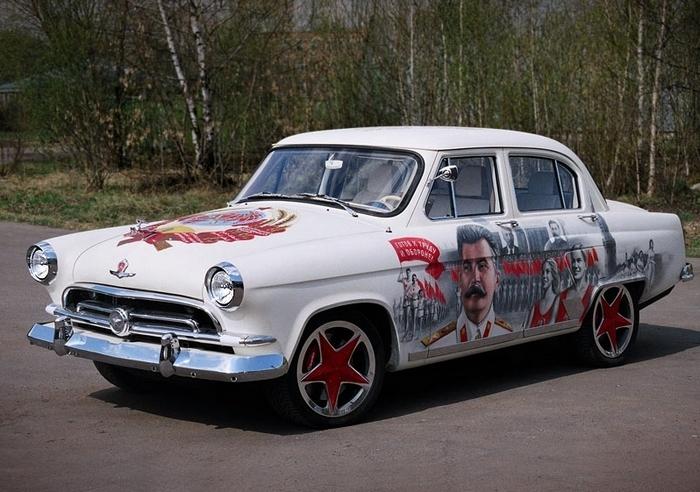 ГАЗ-21  Волга.