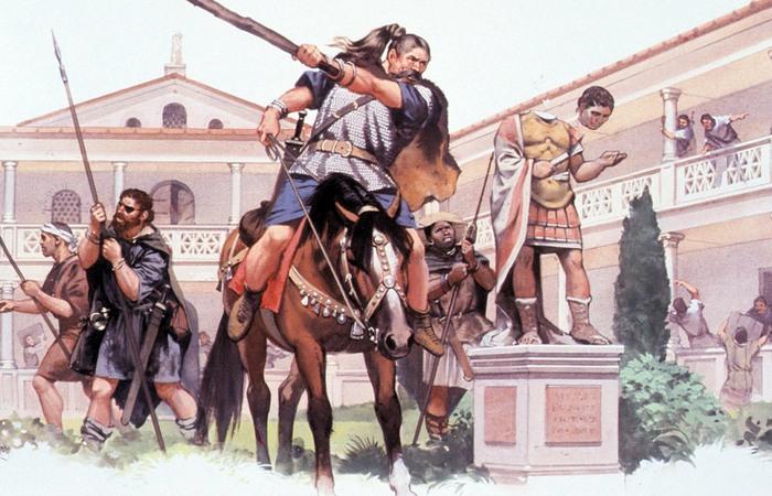 Варвары в Риме.