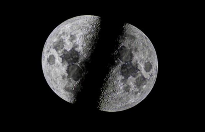 Луна станет кольцом вокруг Земли.