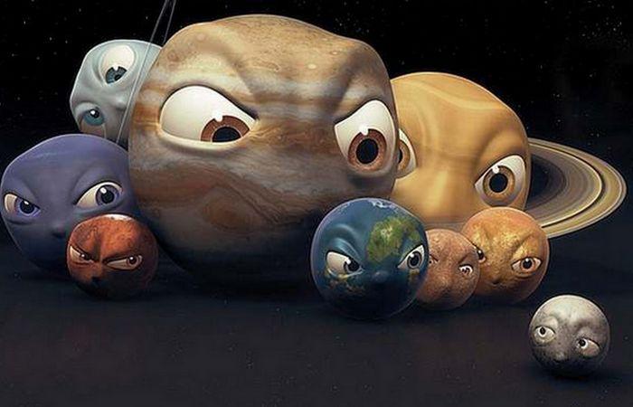 Карлик планете не товарищ!