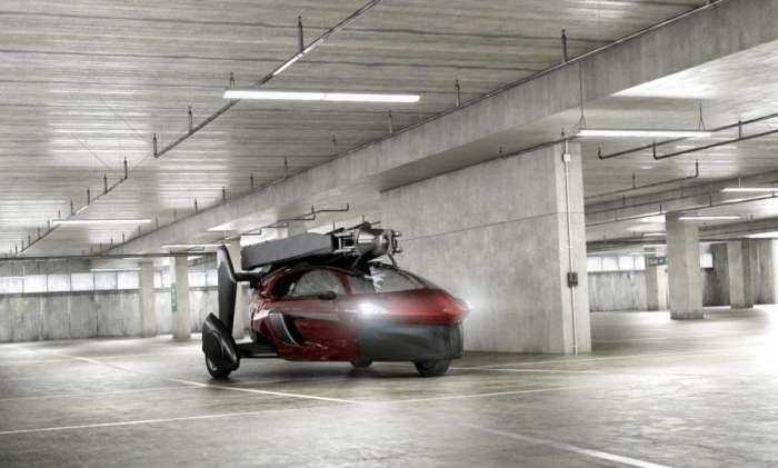 Динамичное транспортное средство.