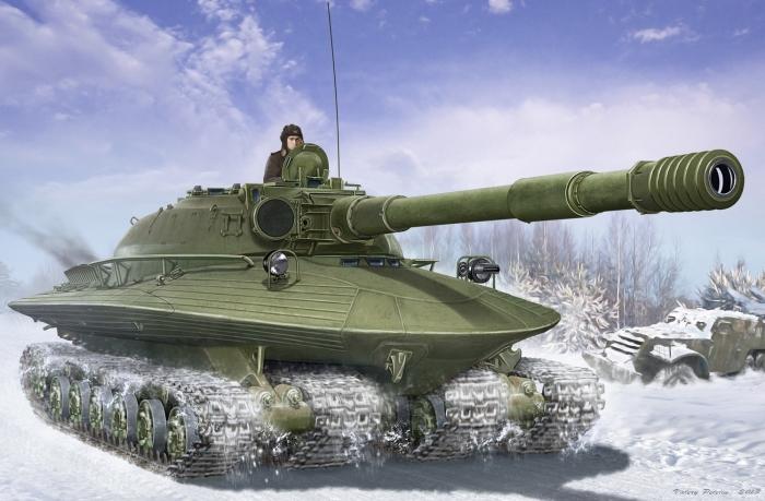 Самые необычные танки прошлого века.