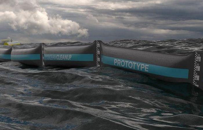 Актуальная инновация: устройство для очистки береговой линии.