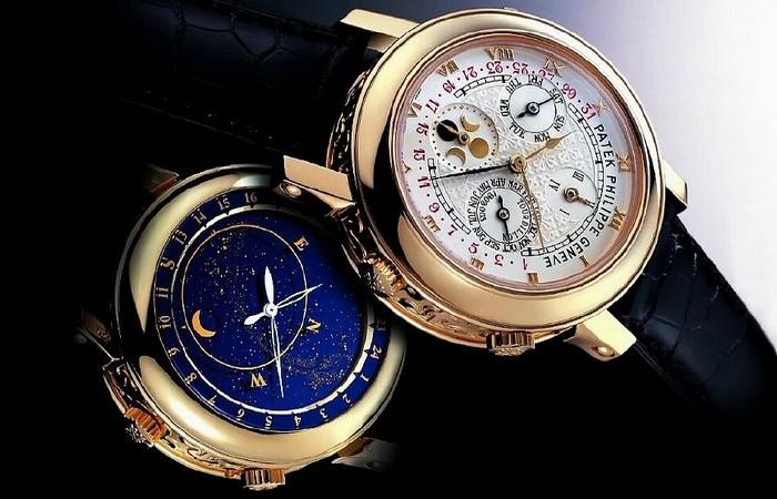 Часы Patek Philippe Sky Moon Tourbillon.