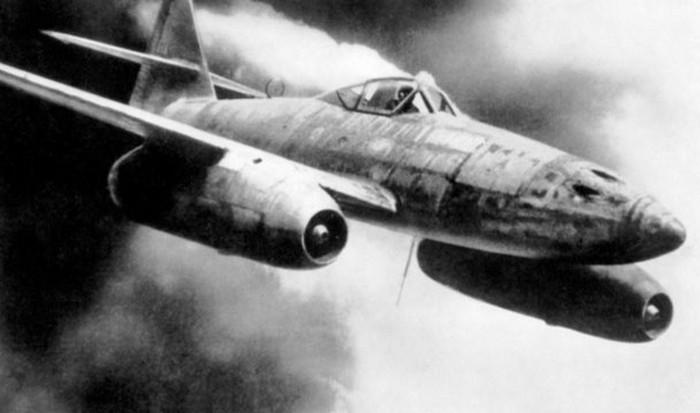 Самолет Messerschmitt ME 262.