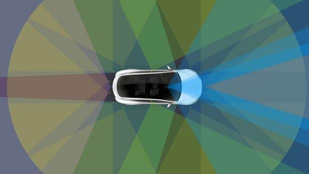Компания Tesla научит машины парковаться на раз-два.