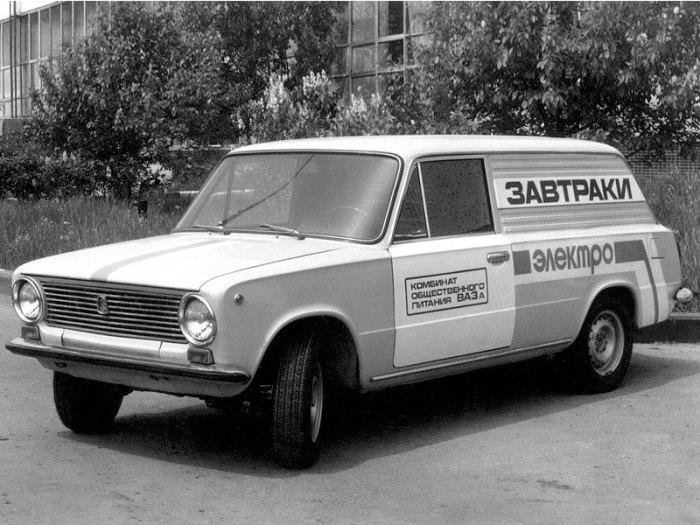 Настоящий советский электромобиль.