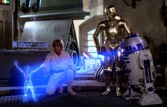 Технологии «Звездных войн»: «Голограммы».