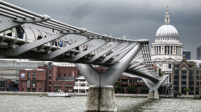 Злосчастный мост Миллениум.