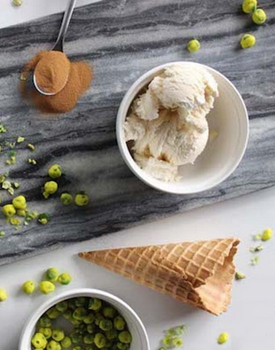 Наполнитель для мороженого «Шоколад и васаби».