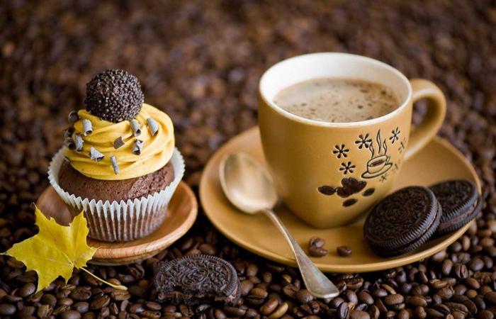 Утренняя чашка кофе...