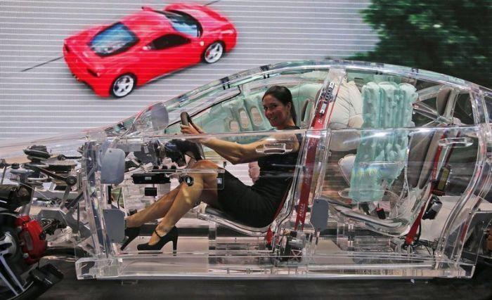 В автомобиле как в банке.