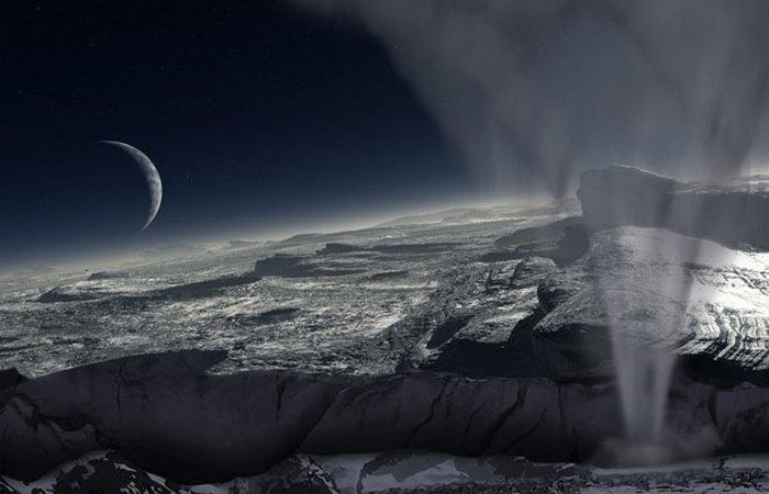 Криовулканы и гейзеры Плутона.