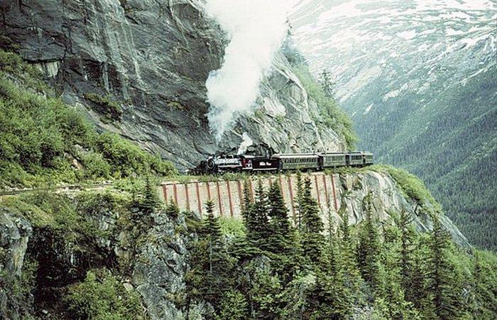 Завораживают и пугают: «Белый перевал и маршрут Юкон».