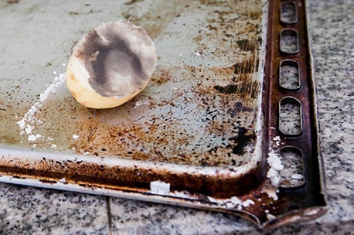 Можно чистить ржавчину и картошкой.