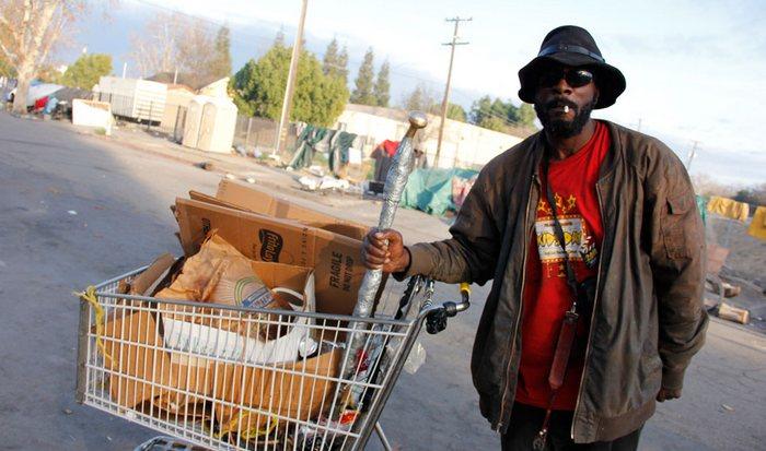 В Калифорнии живут 20% бездомных Соединенных Штатов.