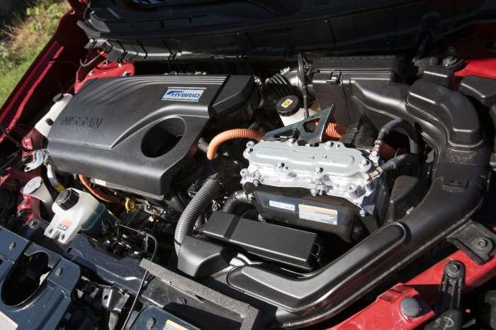 Гибридный высокоэффективный двигатель.
