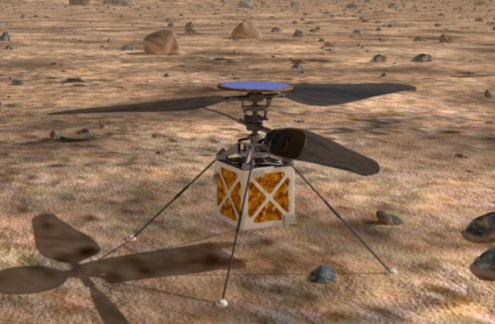 И на Марсе вертолеты полетят.