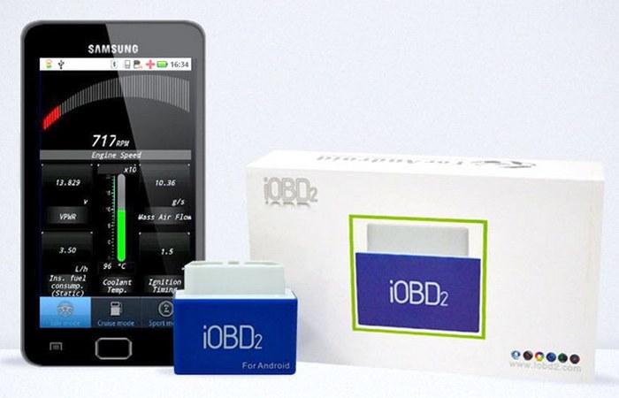 Автомобильный гаджет: сканер iODB2.