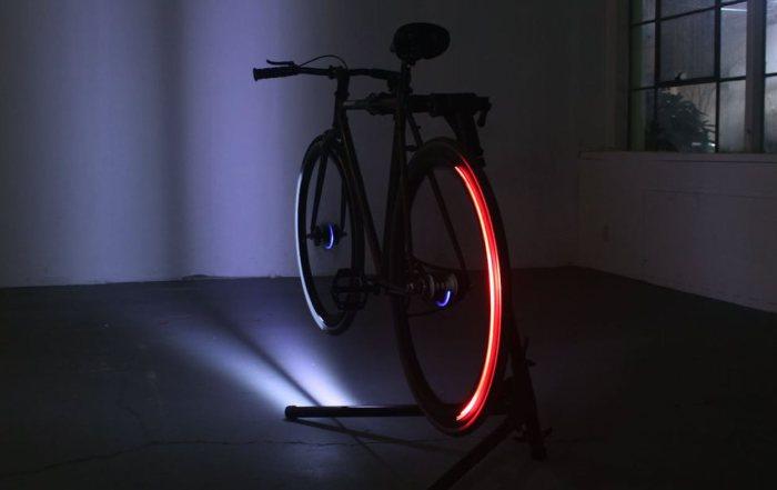 Светильники для колес.