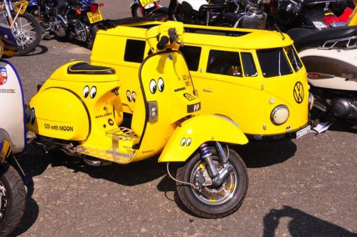 Вот так мотоциклы.
