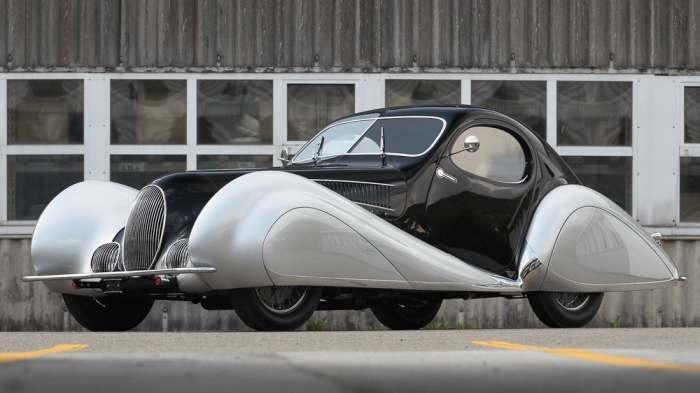 Самый красивый автомобиль в мире был выставлен на продажу.