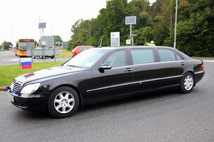 Автомобиль Путина.