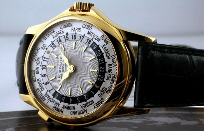 Часы Patek Philippe Platinum World Time.