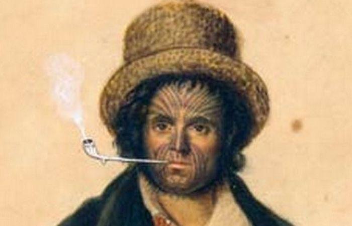 Принудительные татуировки Джона Резерфорда.
