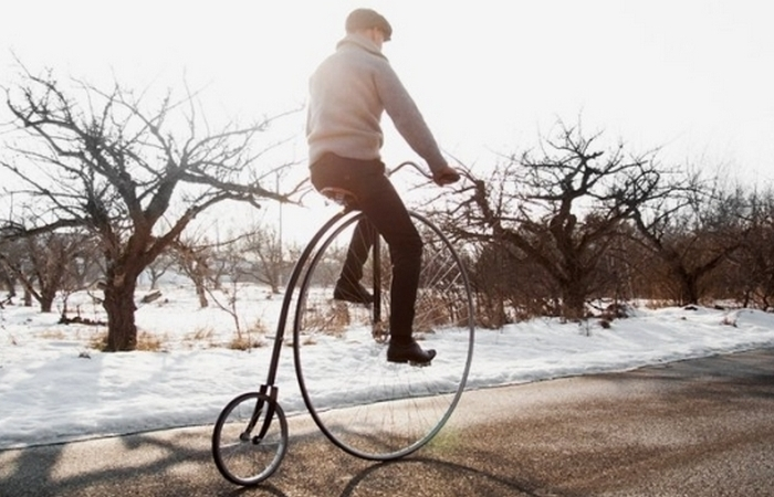 Ретро-велосипед от Пер Оллофа Кипелля.