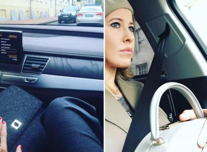 Отличная машина, правда водить Ксения не очень любит.