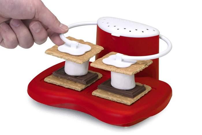 Смешной кухонный гаджет: микроволновая печь «S'more maker».