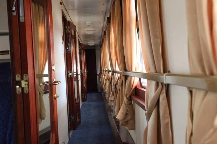 Самый редкий поезд в мире.