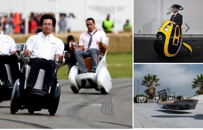 Что создают автокомпании, когда устают об разработки обычных машин.