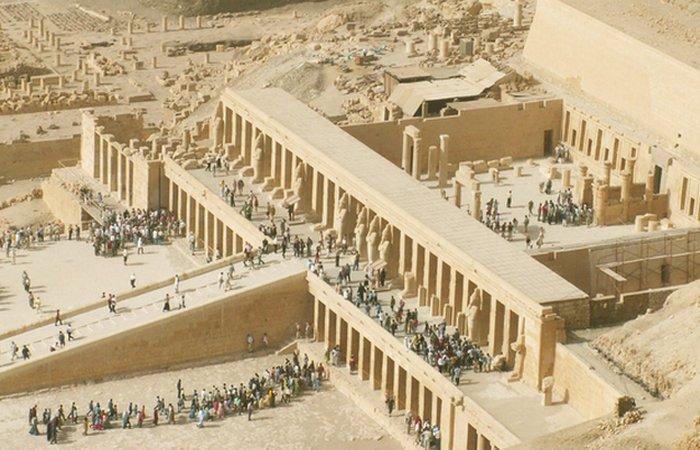 Египетская Долина Царей.