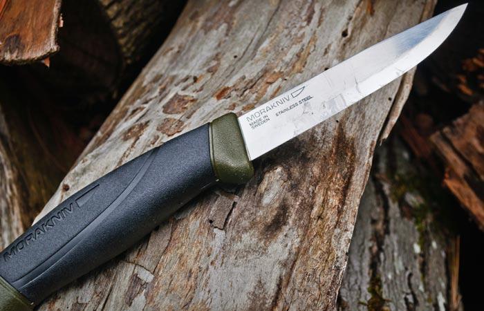 Хороший нож не повредит.