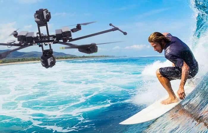 Dron Volt выводит аэрофотовидеосъемку на новый уровень.