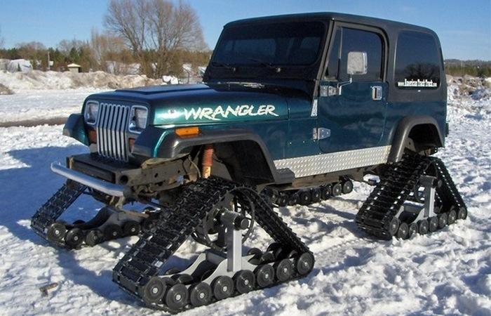Dominator car: из автомобиля в вездеход.